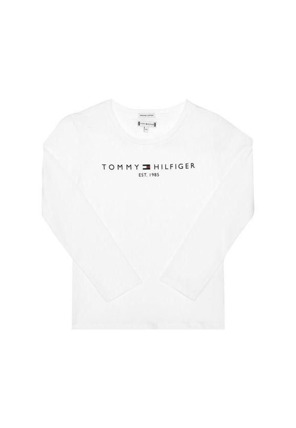 Biała bluzka TOMMY HILFIGER