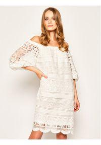 Biała sukienka letnia Luisa Spagnoli