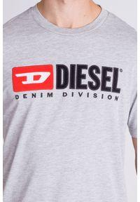 T-shirt Diesel z nadrukiem