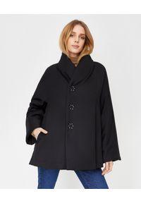 COMME des GARCONS - COMME DES GARCONS - Czarna kurtka z wysokim kołnierzem. Kolor: czarny. Sezon: jesień, zima
