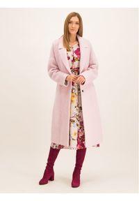 Różowy płaszcz przejściowy Laurèl