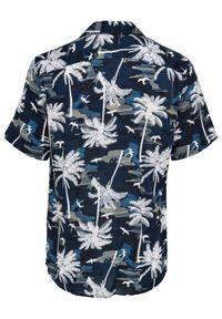Only & Sons Koszula Palm 22019157 Granatowy Regular Fit. Kolor: niebieski