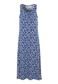 Niebieska sukienka Cellbes