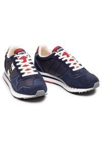 Blauer - Sneakersy BLAUER - S1QUARTZ01/MES Navy. Okazja: na co dzień. Kolor: niebieski. Materiał: zamsz, materiał, skóra ekologiczna. Szerokość cholewki: normalna. Styl: casual, elegancki