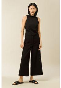 IVY & OAK - Bluzka Thea. Okazja: na co dzień. Kolor: czarny. Materiał: włókno, wiskoza, materiał. Styl: casual