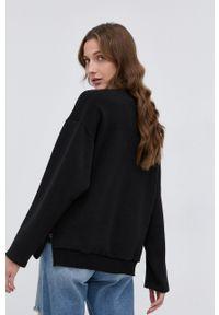 Nissa - NISSA - Bluza. Kolor: czarny. Materiał: dzianina