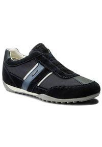 Geox Sneakersy U Wells A U82T5A 02211 C4002 Granatowy. Kolor: niebieski