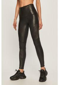 Czarne legginsy Spanx z podwyższonym stanem, gładkie