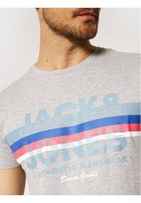 Jack & Jones - Jack&Jones T-Shirt Dry 12184738 Szary Regular Fit. Kolor: szary