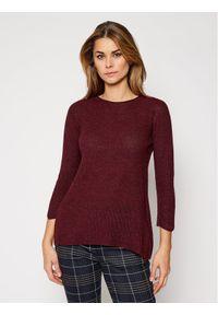 Czerwony sweter klasyczny Persona by Marina Rinaldi