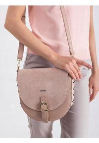 Różowa torebka ROVICKY elegancka
