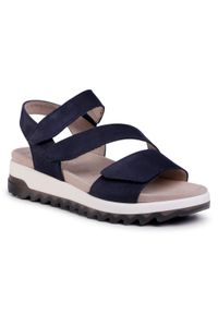 Niebieskie sandały Gabor na co dzień, casualowe