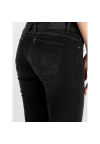 Czarne jeansy slim G-Star RAW