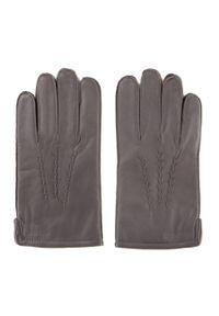 Szare rękawiczki Wittchen klasyczne