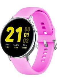 Smartwatch Pacific 24-7 Różowy. Rodzaj zegarka: smartwatch. Kolor: różowy