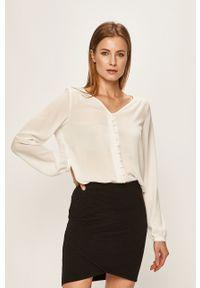Biała koszula Vila casualowa, na co dzień, długa