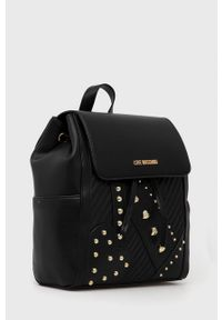 Love Moschino - Plecak. Kolor: czarny