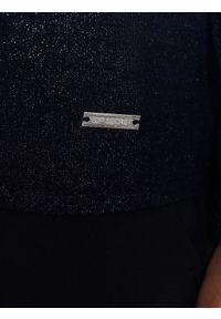 Niebieski sweter TOP SECRET na co dzień, elegancki