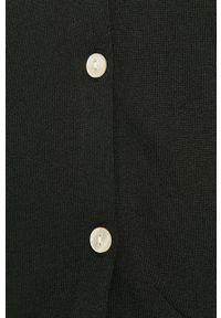 Samsoe & Samsoe - Samsoe Samsoe - Kardigan. Okazja: na co dzień. Kolor: czarny. Materiał: materiał. Długość rękawa: długi rękaw. Długość: długie. Styl: casual #3