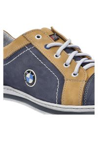 Avanti - Półbuty AVANTI 422 07 Niebieski/Żółty. Kolor: niebieski, żółty, wielokolorowy
