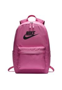 Plecak Nike Heritage 2.0 BA5879-610. Materiał: poliester. Wzór: ze splotem