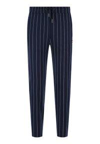 Niebieskie spodnie dresowe Fila #5