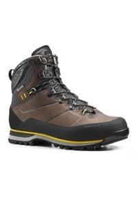 FORCLAZ - Buty trekkingowe wysokie - TREK 900 V2 - męskie. Wysokość cholewki: przed kolano. Materiał: nubuk, skóra, kauczuk. Szerokość cholewki: normalna. Sport: wspinaczka, turystyka piesza
