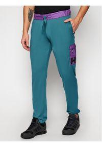 Zielone spodnie dresowe Helly Hansen