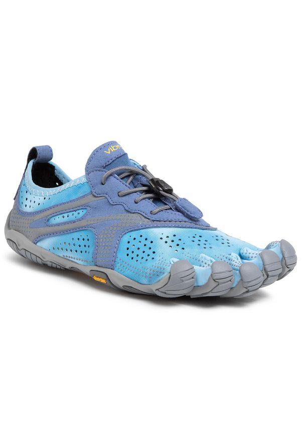 Niebieskie buty do fitnessu Vibram Fivefingers Vibram FiveFingers, z cholewką, na co dzień