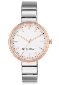 Biały zegarek Nine West