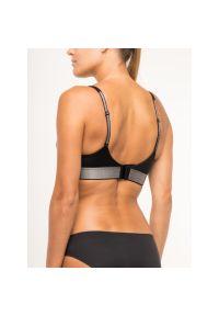 Czarny biustonosz sportowy Calvin Klein Underwear