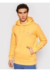 Adidas - adidas Bluza Essential Hoody GN3390 Pomarańczowy Regular Fit. Kolor: pomarańczowy