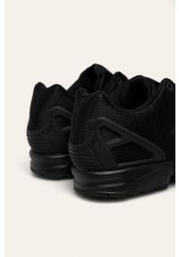 Czarne sneakersy adidas Originals z cholewką, na sznurówki, Adidas ZX Flux