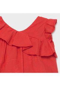 Mayoral Sukienka codzienna 1990 Czerwony Regular Fit. Okazja: na co dzień. Kolor: czerwony. Typ sukienki: proste. Styl: casual