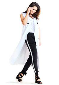 Biała bluzka Awama długa