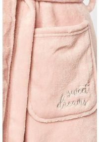Różowy szlafrok Henderson Ladies
