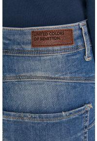 United Colors of Benetton - Jeansy Liv. Kolor: niebieski