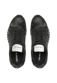 Emporio Armani Sneakersy X4X536 XD222 K001 Czarny. Kolor: czarny