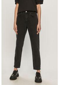 Czarne jeansy loose fit Vero Moda