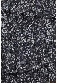 medicine - Medicine - Spódnica Graphic Bouquet. Kolor: czarny. Materiał: tkanina