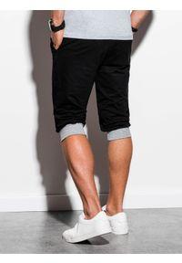 Szare szorty Ombre Clothing klasyczne, krótkie