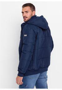 Niebieska kurtka bonprix na zimę