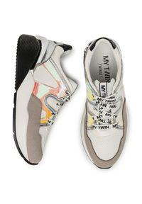 Białe buty sportowe My Twin do biegania