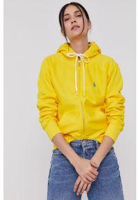 Polo Ralph Lauren - Bluza. Okazja: na co dzień. Typ kołnierza: polo. Kolor: żółty. Styl: casual #1