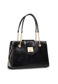 Brązowa torebka klasyczna DKNY