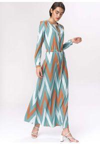 Sukienka Nife w kropki, wizytowa