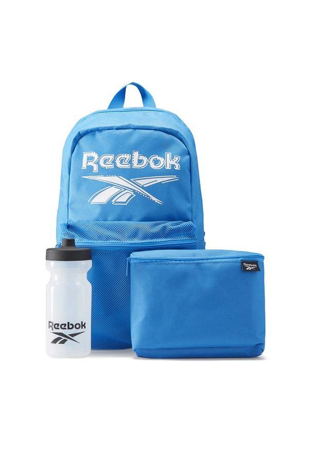 Reebok Backpack Lunch Set > GG6655. Materiał: poliester. Wzór: gładki