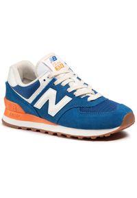 Niebieskie sneakersy New Balance 574