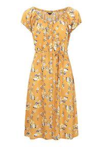 Żółta sukienka mini Happy Holly