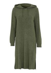 Soyaconcept Wyjątkowo miękka sukienka dżersejowa Biara zielony melanż female zielony S (38). Kolor: zielony. Materiał: jersey. Długość rękawa: długi rękaw. Wzór: melanż. Typ sukienki: proste